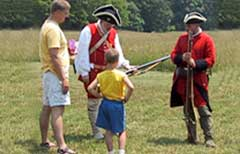 Hampshire Family Frontier Day at Fort Edwards